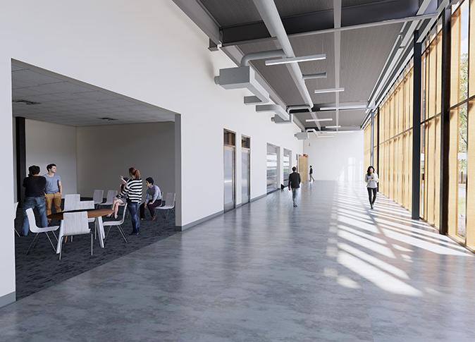 Workroom Hallway One